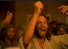 Jesus dancing