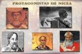 Principales actores del Concilio deNicea