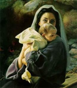 Virgen con niño Emmanuel