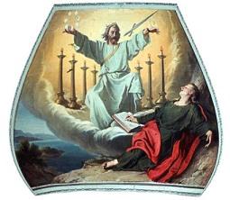Cristo entre 7 candelabros
