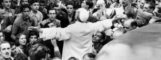 Pio XII en público