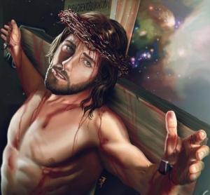 Jesús cruz 5456