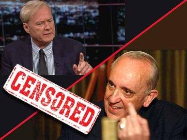 Impactante entrevista de Chris Matthews al cardinal Bergoglio -verdad o mentira