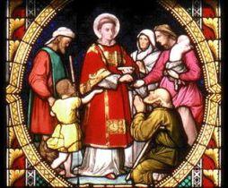 San Esteban como diácono