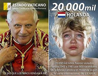 Imagen que se extendió como la pólvora por Internet a raíz de los casos en Holanda