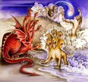 Las 3 bestias del Apocalipsis: Satanás, el Anticristo y el Falso Profeta