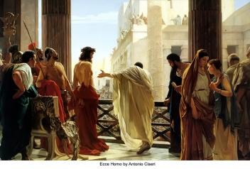 Ecce Homo by Antonio Ciseri c. 1880