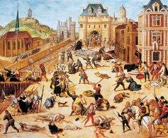 guerra entre católicos y protestantes