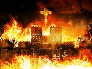 La caida de Babilonia