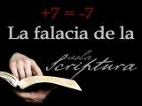 La falacia de la Sola Scriptura (o el absurdo de que Jesús es elAnticristo)