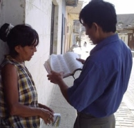 predicando de casa en casa