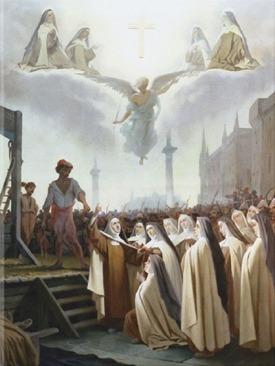 Las mártires de Compiége