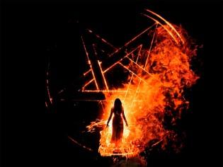 quema de brujas
