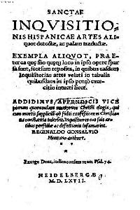 Sanctae Inquisitionis Hispanicae Artes