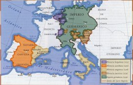 Territorios europeos de Carlos V