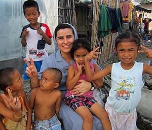 monja misionera