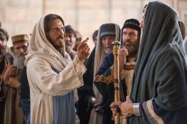 Jesús y los fariseos