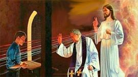 Confesión - sacerdote-Jesús