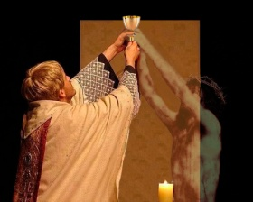Eucaristía - sacerdote-Jesús