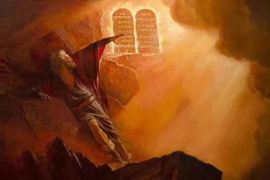 Moisés y las Tablas de la Ley
