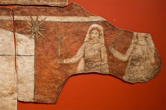 imágenes de la iglesia de Dura Europos (siglo III)