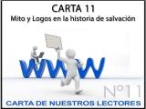 CARTA 11: Mito y Logos en la historia desalvación